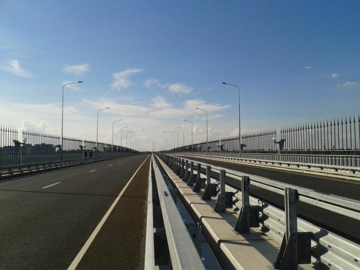 Деревяницкий мост за 42,5 миллиона оборудовали техническими средствами транспортной безопасности