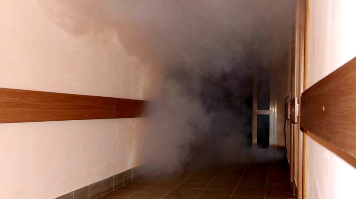 Работник ООО ЧОО «Евро-Альянс» предотвратил пожар вшколе