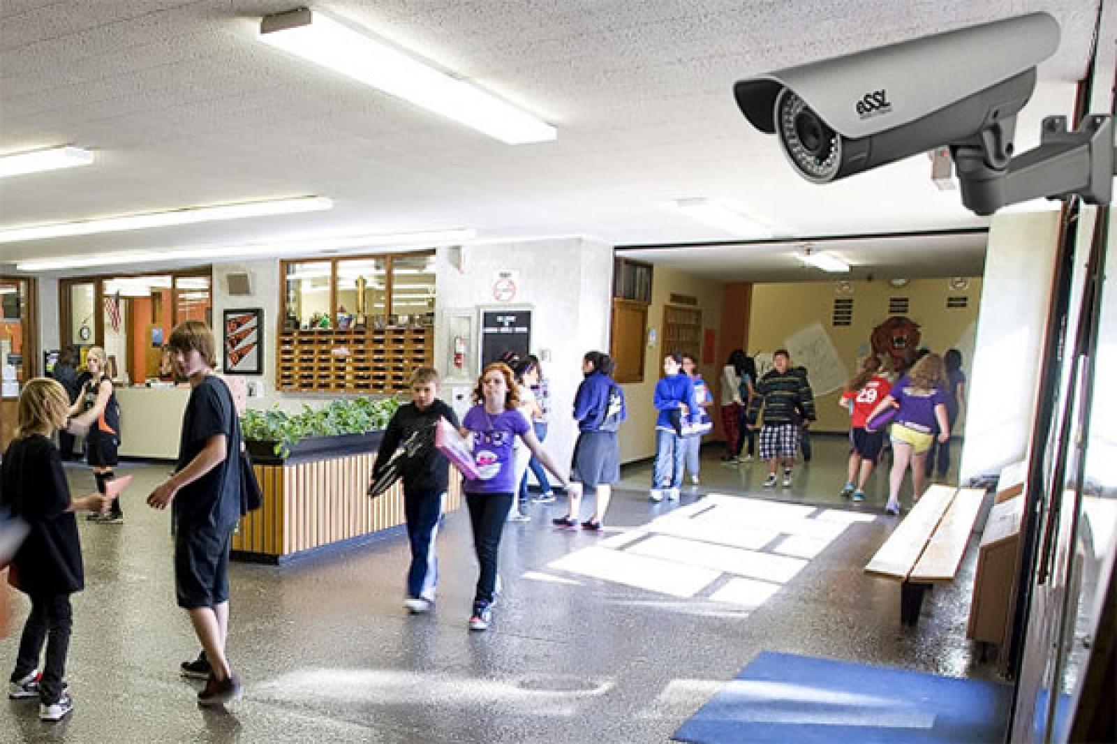 Все школы Кубани оборудовали камерами видеонаблюдения и тревожными кнопками