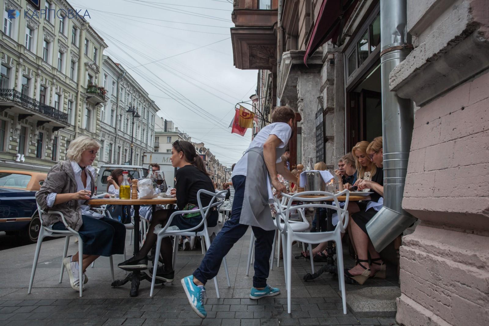 """В центре Петербурга владельцы ресторанов создали """"частную полицию"""""""