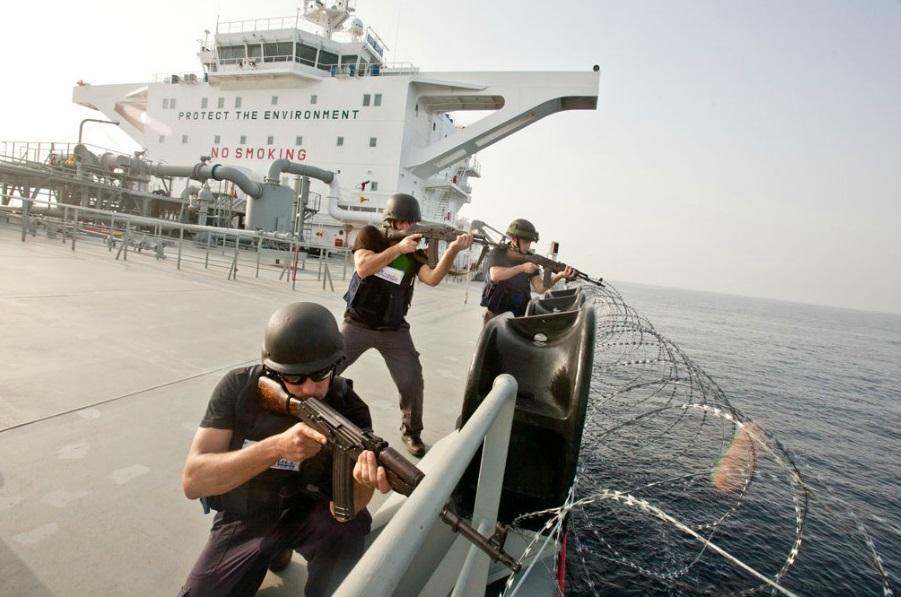В Нидерландах одобрили частную охрану на торговых судах