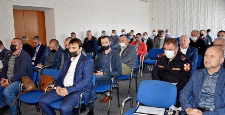 В Крыму сотрудники Росгвардии провели заседание по взаимодействию сЧОО