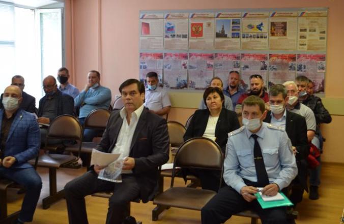 Росгвардия Вологды провела заседание по вопросам частной охранной деятельности