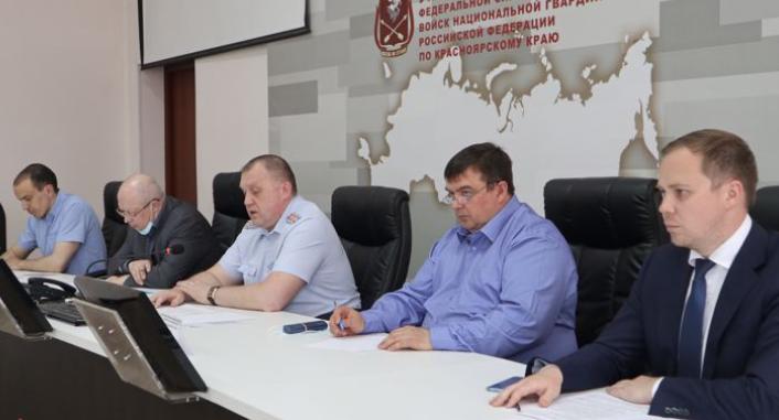 В Красноярске прошло заседание Координационного совета по взаимодействию сЧОО