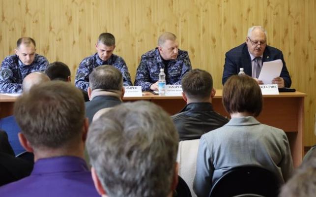 Росгвардия Камчатки провела заседание Координационного совета по вопросам частной охранной деятельности