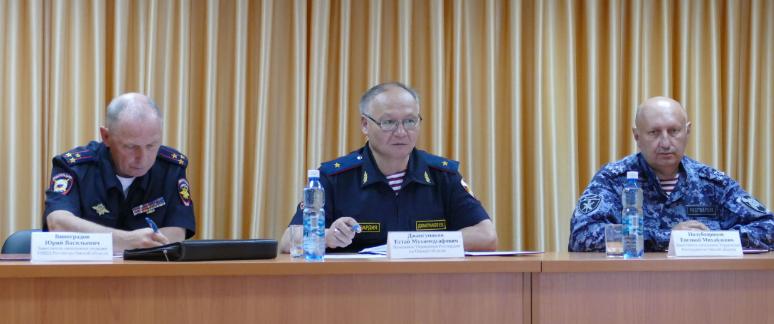 В Омске Росгвардия и ЧОП обсудили вопросы обеспечения безопасности