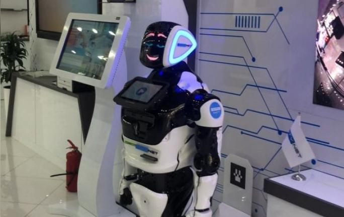 В Узбекистане появился первый робот-охранник российского производства